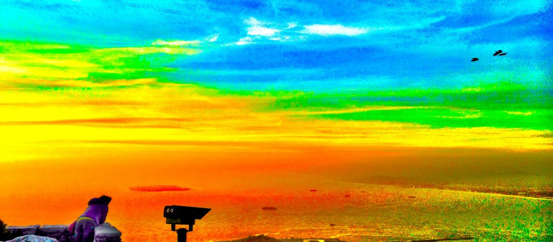 Overlooking Capetown South Africa  Michael Slowey 2015