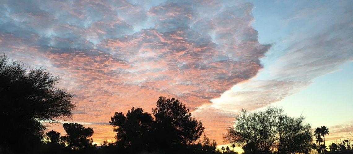 Tucson Sunrise, January 2018